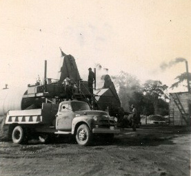 Browns paving first asphalt plant