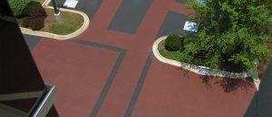 Pattern Paving parking lot