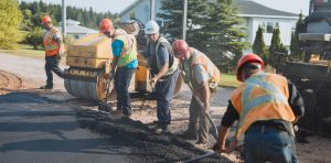 Brown's Paving Team